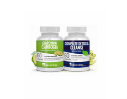 Garcinia Cambogia and Detox Combo Pack Supplement for Appetite Suppressant