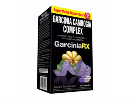 IntraMedic GarciniaRX Garcinia Cambogia Supplement for Weight Loss