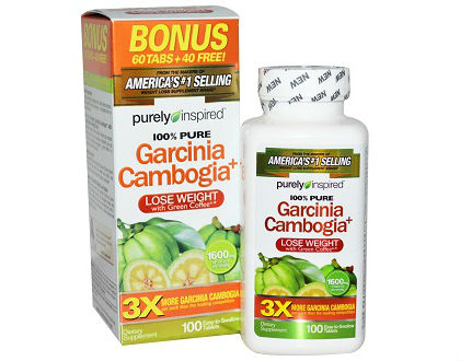 Purely Inspired Garcinia Cambogia Supplement for Weight Loss