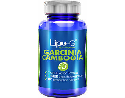 LIPO-G3 Garcinia Cambogia Supplement for Weight Loss
