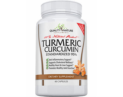 Quality Nature Supplements Turmeric Curcumin supplement