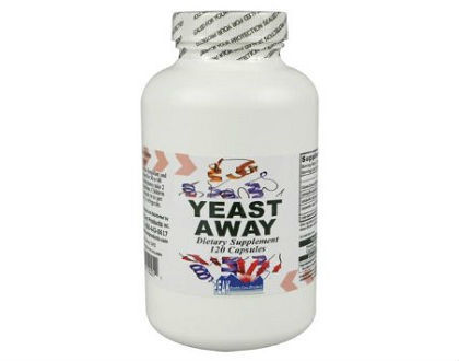 Yeast Away Peak Health Care Products Inc. supplement