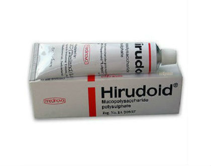 Hirudoid Scar Treatment