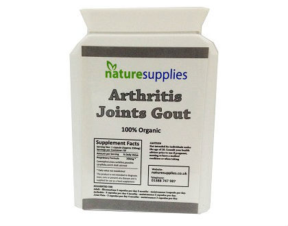 Naturesupplies Gout Relief Supplements for Joint Pain Relief