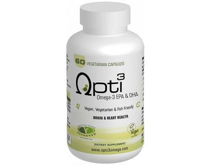 Opti3 Omega-3 EPA and DHA omega-3 fish oil supplement