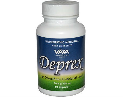 VAXA Deprex Supplement for Controlling Symptoms of Anxiety