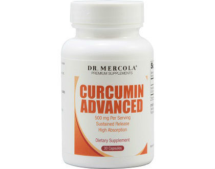 Dr. Mercola Curcumin Advanced supplement