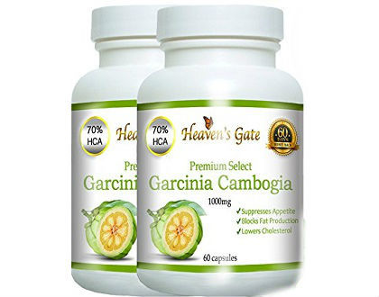 Heaven's Gate Premium Select Garcinia Cambogia Supplement for Appetite Suppression