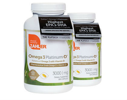 Zahler Omega 3 Platinum Advanced Nutrition