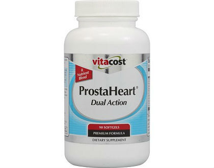 ProstaHeart Dual Action supplement for prostate health