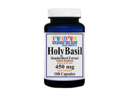 Vitamins Because Your Worth It Holy Basil