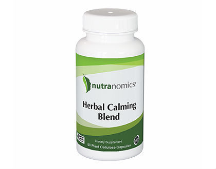 Nutranomics Herbal Calming Blend Supplement to Ease Anxiety