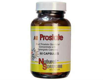 Natural Sources All Prostate supplement