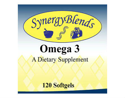 Synergy Blends Omega 3 Fish Oil Supplements