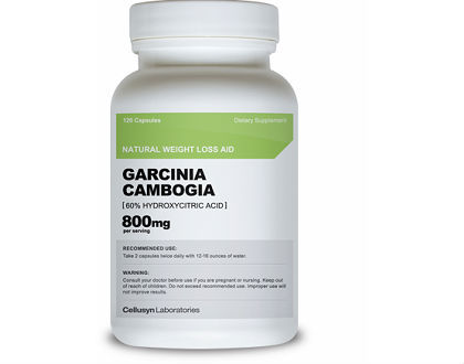 Cellusyn Labs Garcinia Cambogia Supplement for Appetite Suppression