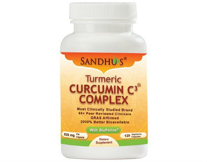 Sandhu Curcumin C3 Complex supplement