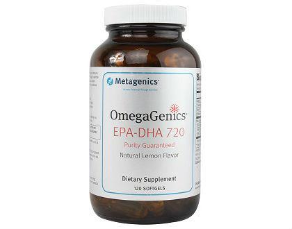 OmegaGenics EPA-DHA 720 Metagenics fish oil supplement
