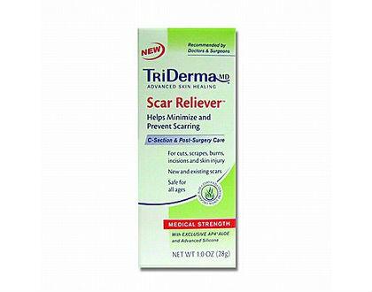 TriDerma Scar Cream to remove scars