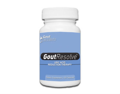 Gout Resolve Uric Acid Reduction Therapy Supplement for Gout Relief