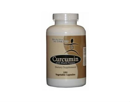 Bioactive Nutrients Curcumin with Black Pepper turmeric supplement