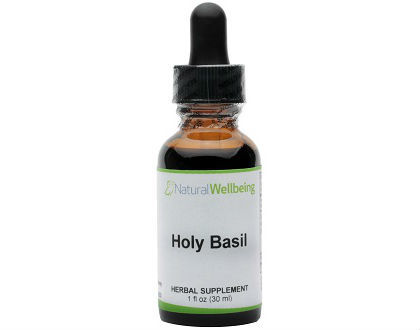 Natural Wellbeing Holy Basil
