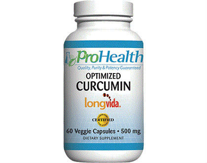 ProHealth Optimized Curcumin Longvida turmeric supplement