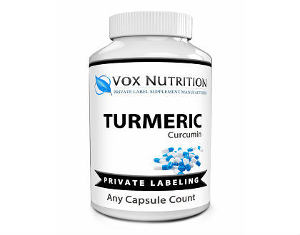 Vox Nutrition Private Label Turmeric supplement