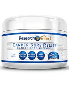 Research Verified Canker Sore Relief for Healing Canker Sores