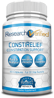 ResearchVerified ConstiRelief Supplement to Aid in the Relief of Constipation