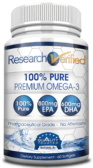 ResearchVerified Omega 3 supplement