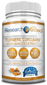Research Verified Turmeric curcumin supplement