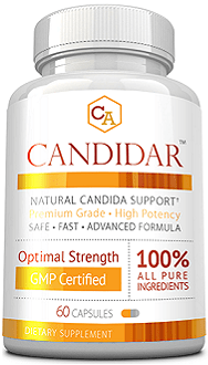 Candidar supplement for yeast infection