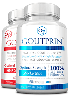 Goutprin Supplement for Relief of Gout Pain