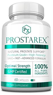Prostarex supplement for prostate health