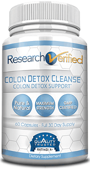 Research Verified Colon Detox Cleanse Supplement for Colon Cleanse