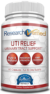 Research Verified UTI Relief supplement