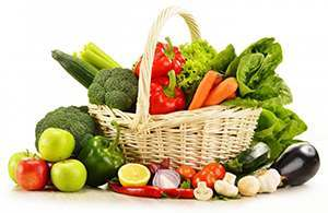 Fruit and Veggies help prevent gout