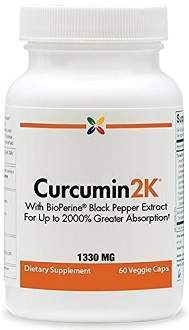 Curcumin2K turmeric supplement