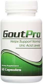 GoutPro Supplement to Control Symptoms of Gout