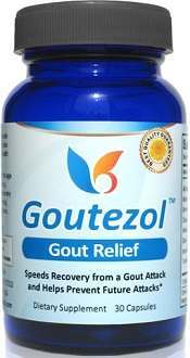Goutezol Supplement for Gout Relief