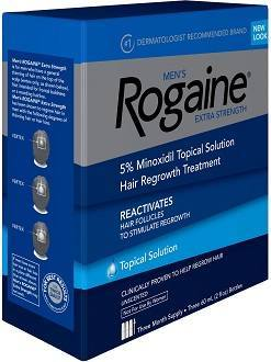 Men's Rogaine Hair Regrowth Treatment Review