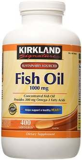 Kirkland Signature Fish Oil omega-3 supplement