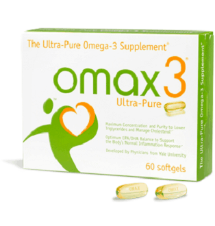 Omax Ultra-Pure Omega-3 fish oil supplement