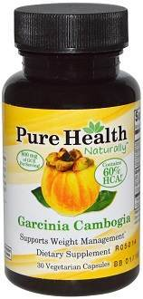 Pure Health Garcinia Cambogia Supplement for Weight Loss