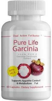 Pure Life Garcinia Cambogia Extract Supplement for Weight Loss