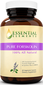 Essential Elements Pure Forskolin Supplement for Weight Loss
