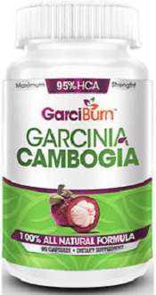 GarciBurn Garcinia Cambogia Extract Supplement for Appetite Suppression