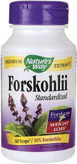 Nature's Way Forskohlii Supplement for Weight Loss