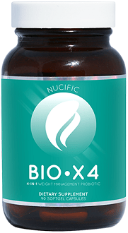Nucific BIO X4 Supplement for Weight Loss and Appetite Suppression