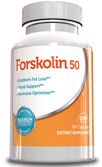 Genetic Solutions Forskolin-50 Supplement for Weight Loss